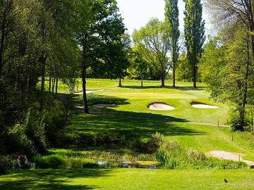 Lingfield park 18-hole golf course located in surrey, near london