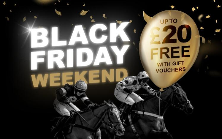 Treat someone with a black friday gift voucher to enjoy live horse racing at Lingfield Park Racecourse. A unique gift