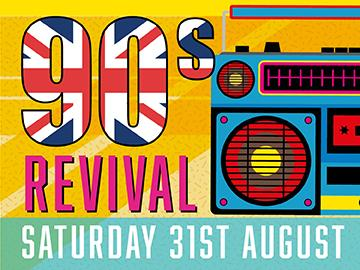90's revival at lingfield park with live dj set after racing on saturday 31st august