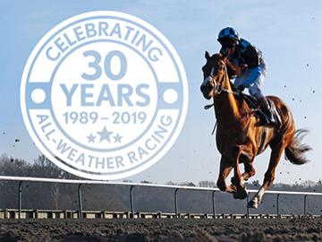 30 years of all-weather racing at lingfield park resort on Thursday 31st October