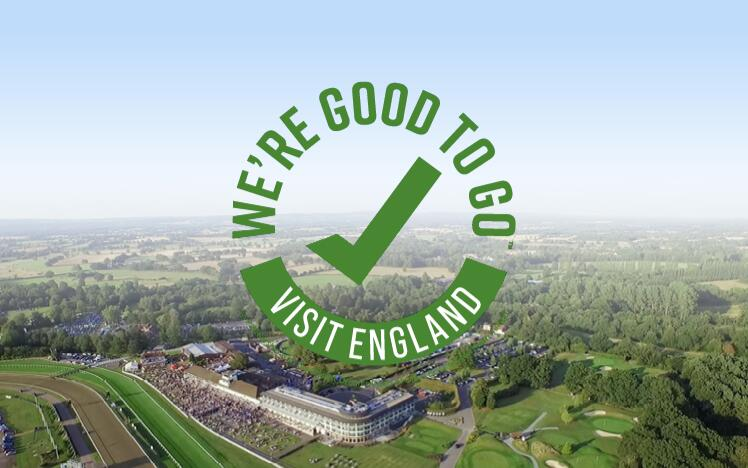 Lingfield Park has successfully completed Visit England's UK-wide industry 'We're Good To Go' accreditation mark