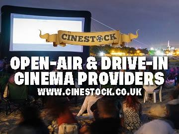 cinestock open air cinema at lingfield park