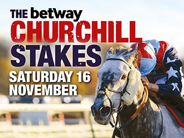 Prestigious Churchill Stakes on November 16th. Fast-Track Qualifier, raceday